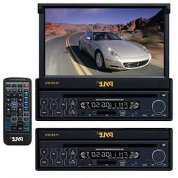 Plts73fx 7 Flip Touchscreen Cd Dvd Usb Sd Car Player Replace