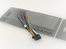 Xtenzi Power Harness Wire cord 16 Pin DDX395 DDX575 DDX375 D