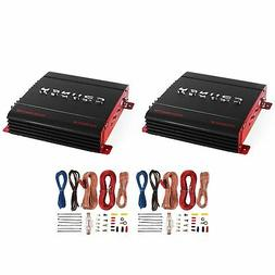 Crunch PX-1000.2 2 Channel 1000W Car Stereo Amplifier + Amp
