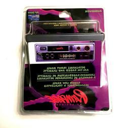 Audiovox Rampage AV-301N AM/FM Car Stereo Cassette Player De