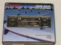 RARE Vintage Sanyo MAR-1000 Car Audio Cassette Stereo System