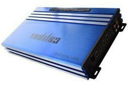 Power Acoustik RE1-3000D BLUE 3000 Watt Monoblock Car Stereo