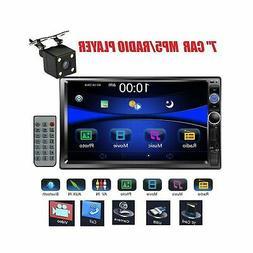 Regetek InDash DVD & Video Receivers Car Stereo Double Din 7