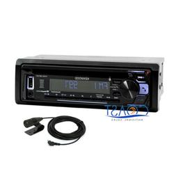 Kenwood Removable Faceplate Bluetooth Car Stereo Pandora MP3