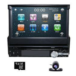 Sale New HD Flip Out Single 1 Din Car Head Unit Stereo Radio
