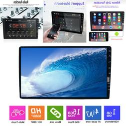 """Single 1 Din 9"""" Car Stereo FM USB AUX MP5 Player Touch Scree"""