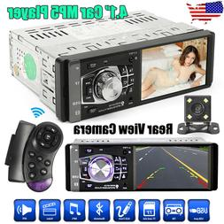 "Single 1DIN 4.1"" HD Car Stereo Video MP5 Player BT FM Radio"