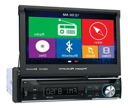POWER ACOUSTIK Power Acoustik Single Din AM/FM/DVD/BT flip o