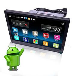 YODY 10.1 Inch Single Din Android 6.0 Car Stereo with Blueto