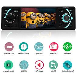 YALASO 4.1 Inch Single Din Car Stereo MP5 Player with Blueto
