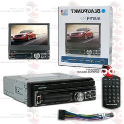 "Blaupunkt single din DVD/CD receiver with 7"" touch screen an"