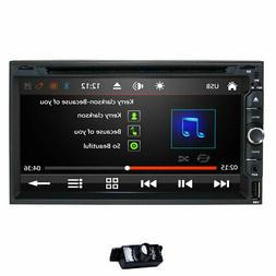 "HIZPO Lens Double 2Din 7"" Car Stereo Radio DVD Player In Das"