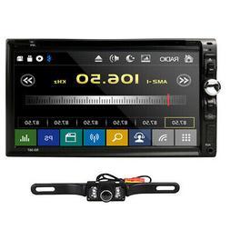 "Sony Lens Double 2Din 7""Car Stereo Radio DVD Player iPod Blu"