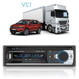 Stereo Subwoofer <font><b>Car</b></font> Radio Bluetooth Pho