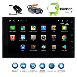 EinCar 7 Inch HD Touch Screen Double Din Android 7.1 Car Ste