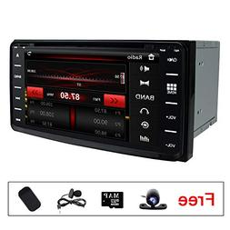 Touch Screen Radio Car Stereo DVD Player GPS Navigation for
