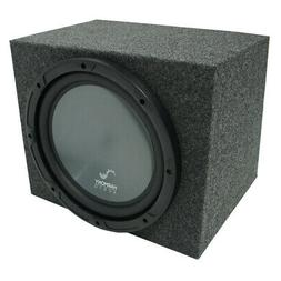 "Universal Car Stereo Rearfire Sealed Single 10"" Harmony R104"