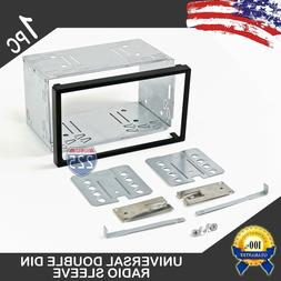 Universal Double DIN Car Stereo European Radio Sleeve Cage M