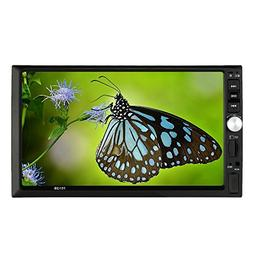 "KKmoon Universal 7"" Inches Double-Din In-Dash HD Car Radio M"