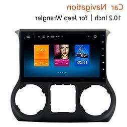 Dasaita 10.2 inch Large Screen Unviersal Double Din Car GPS