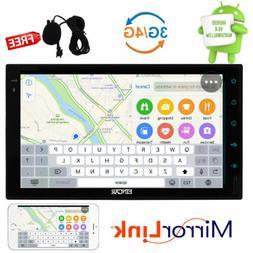 "US STOCK Eincar 2 Din 7"" Android 6.0 Car Radio Stereo GPS Na"