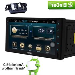 "USA Eincar 2 Din 7"" Android 6.0 System Car Stereo GPS FM Rad"