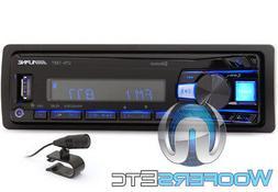 ALPINE UTE-73BT BLUETOOTH MP3 USB IPOD WMA AUX IPHONE EQUALI