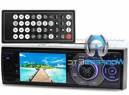 Soundstream VR-345XB Single DIN Bluetooth SiriusXM Ready CD