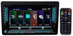 """Soundstream VR-63XB 6.2"""" Touchscreen 2-DIN DVD, CD/MP3, AM"""