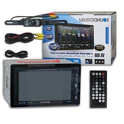 Soundstream VR-65B Car Audio Double Din 2DIN 6.2 Touchscreen