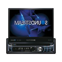 SOUNDSTREAM VR-720B 1-DIN DVD CD BLUETOOTH CAR STEREO WITH M