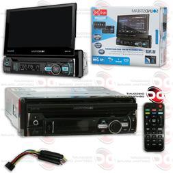 SOUNDSTREAM VR-75XB CAR 1DIN DVD CD BLUETOOTH STEREO W/ MOTO
