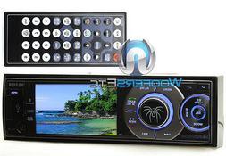 "SOUNDSTREAM VR345B 3.4"" TV BLUETOOTH CD DVD MP3 USB 300W AMP"