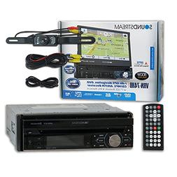 "Soundstream VRN-74HB 1-DIN Single DIN 7"" Touchscreen GPS Nav"