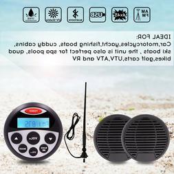 5.25-Inch 160W 2-Way Waterproof Marine Speakers Waterproof B