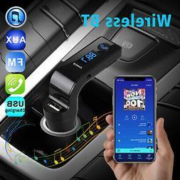 Wireless Bluetooth 4.1 Car AUX Stereo Audio Receiver A2DP FM