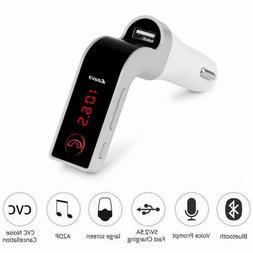 Bluetooth Wireless 4.1 Car AUX Stereo Audio Receiver FM Adap