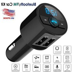 Wireless Bluetooth4.2 Car Stereo Radio Kit FM Transmitter MP