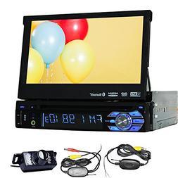 Free Wireless Rearview Backup Camera + 1 Din GPS Navigation