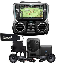 Alpine X209-WRA-OR 9-Inch Off-Road Restyle Unit & PSS-21WRA