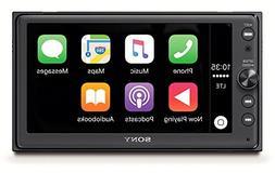 """Sony XAV-AX100 6.4"""" Car Play/Android Auto Media Receiver wit"""