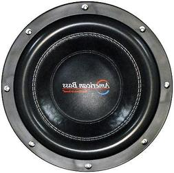 "American Bass Xfl1022 10"" 2000 Watt Subwoofer Car Audio Sub"