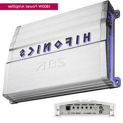 Hifonics Zeus 1800-Watt Max Class D Monoblock Car Audio Ampl