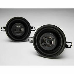 "Hifonics ZS35CX Zeus Speaker 3.5"" Coaxial 125W Mount Depth 1"