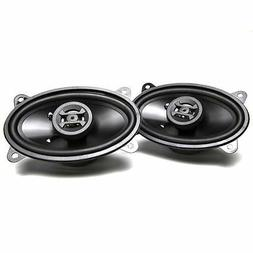 "Hifonics ZS46CX Zeus Speakers 4""x 6"" Coaxial 250W Mount Dept"